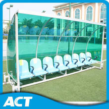 Soccer Seating Team & Staff Shelters for football field