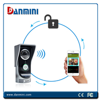 Top selling brand DANMINI WIFI Smart Doorbell Wireless Doorbell controlled via Free APP via Andriod & iOS smart phone