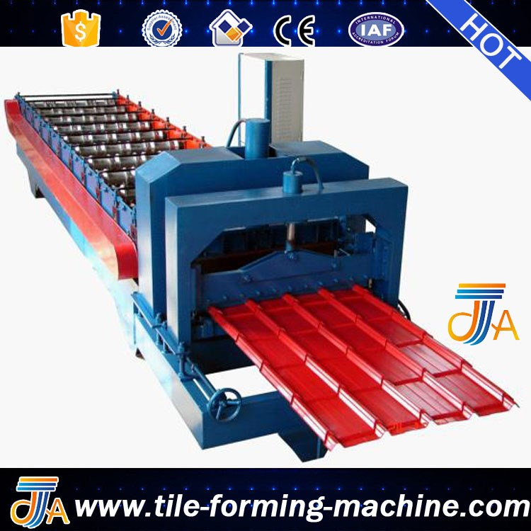 interlocking glazed tile making machine glazed sheet roll forming machine bello lin