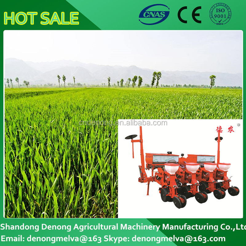 High capacity 4 rows corn air suction no-till fertilizing planter maize sunction no till fertilizing planter with high capacity
