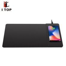 2018 Hot Selling Trending Qi Standard Wireless Charger Mouse Pad/Mat