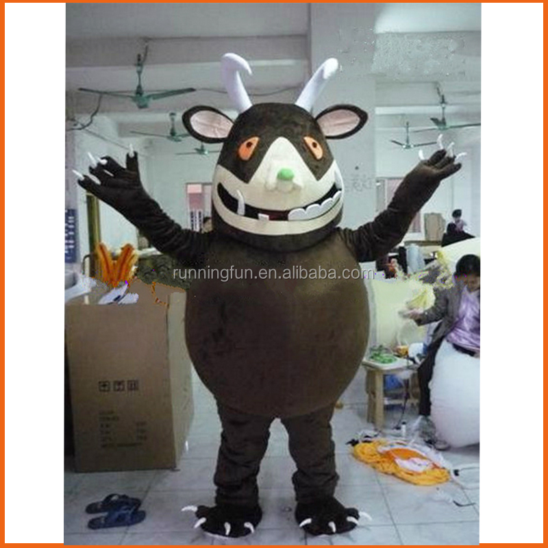 High quality Gruffalo mascot costume, used adult mascot for sale