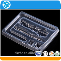 Customized High Quality Eco-friendly Vacuum Forming Tray, Various pet blister packing