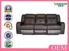 Cheers leather sofa recliner l shape sofa with recliners