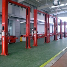 Lift height 1900 two post clear floor car lift