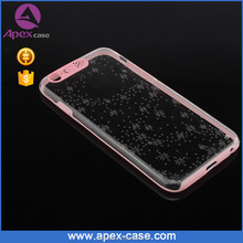 Top Selling Crystal Clear LED Flash Mobile Cover Case
