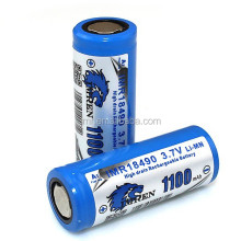 imren18490 1100mah,provari mod,imr 18490 rechargeable battery,imren 18490 battery,provari mini,1100mah 3.7v battery