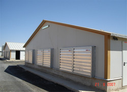 designed quality saving mobile poultry department