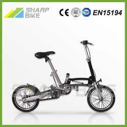 "16"" Light weight 3 speed one second fold sports pocket bike for teenager"