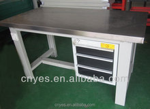 Cheapest Promotion Big Steel Workbench With Drawer