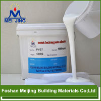 high quality water-proof pvc cement glue for mosaic