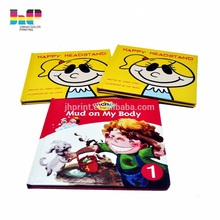Sewn glue binding children Hardcover softcover book printing service in Shenzhen China
