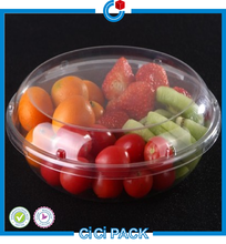 Disposable Plastic Fruit Packaging Clamshell Transparent
