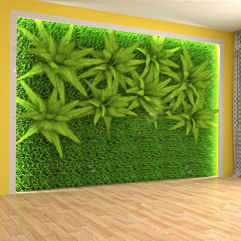 Factory price new designed high quality Fashion Popular artificial Cloth leaf fence planting green wall