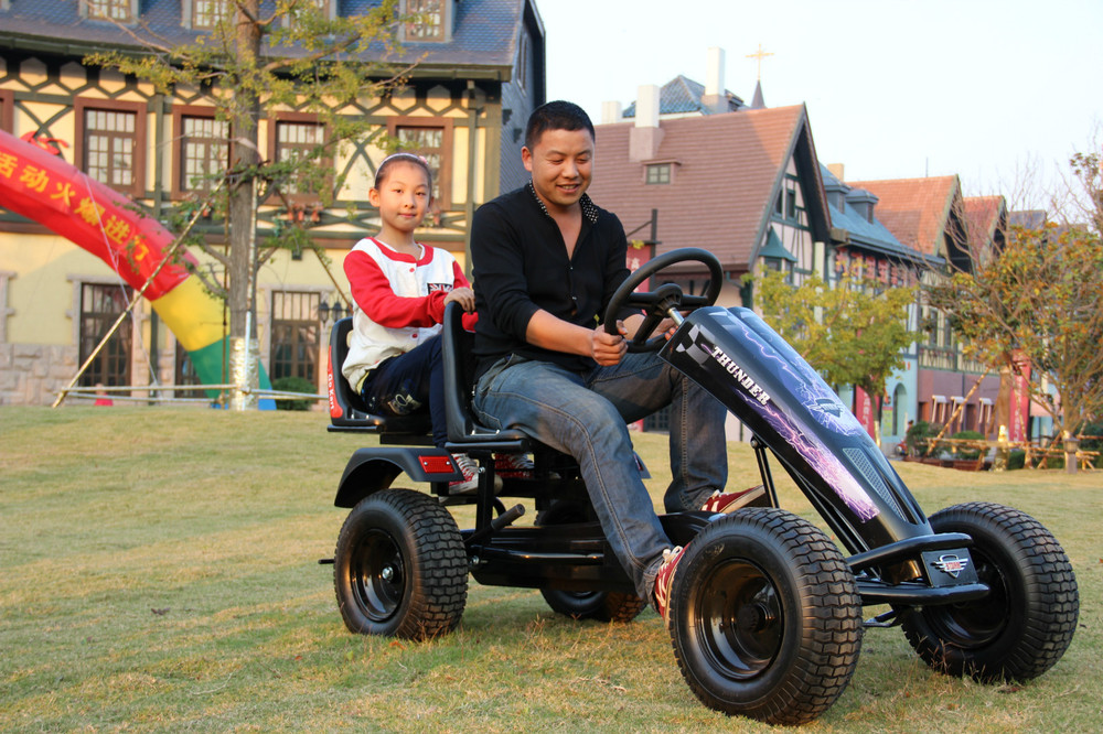 2 seat pedal go kart for kids children go kart and adult
