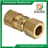 1 1/2 1/4 1/8 inch NPT Threaded Brass Compression Coupling Pipe Fittings