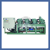 Water Cooled Refrigeration Comperssor Bitzer Two-Stage Tandem Unit