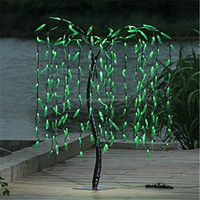 Chinese manufacturer waterproof cheap outside&inside led willow tree lights