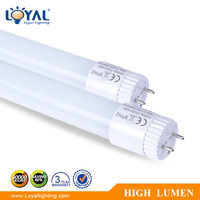 CE ROHS TUV 360 degree energy saving integrated 600mm 900mm 1200mm 1500mm glass smd t5 t8 12w 15w 18w 20w led tube light