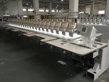 FHT-0924 RiCOMA 24 Head Computer Flatbed Embroidery Machine