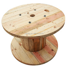 used empty wooden cable spools for sale