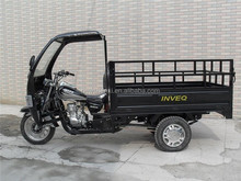 Hot Sale 3 Wheel Gas Cargo Tricycle With Cabin Chinese For Adult On Sale