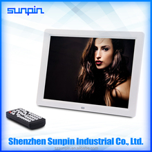 high resolution 1024*600 10 inch automated digital photo/picture frame with remote control