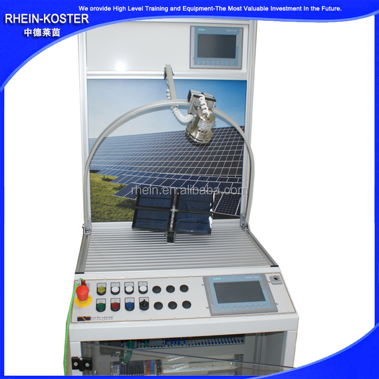 school educational training system/New Energy photovoltaic solar power training equipment