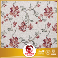 china supplier factory directly upholstery fabric sofa floral jacquard