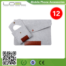 Cotton Fabric Sleeve Bag for Macbook Air , Woolen Felt Envelope Laptop Bag Cover Case Sleeve For Macbook B022469(1)