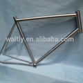 3AL2.5V chinese single speed bike  frame titanium road bicycle