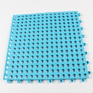 Hot selling easy to clean pvc rubber water absorbent swimming pool floor mat