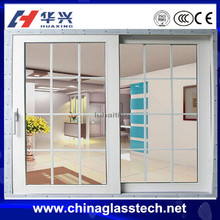 CE certificate durable waterproof heat preservation wooden grain color upvc,pvc door pictures
