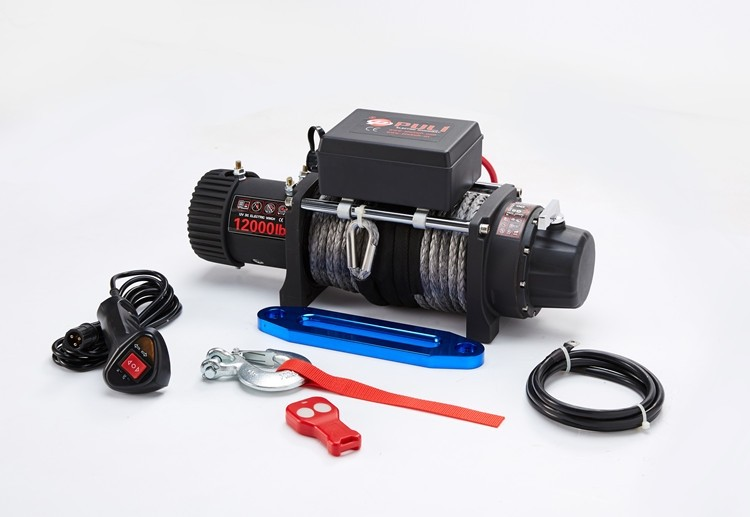 hot sale 12000lb electric winch for offroad car jeep recovery with wireless remote ce certified