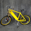 "26"" mountain electric bicycle with double shoulder front fork"