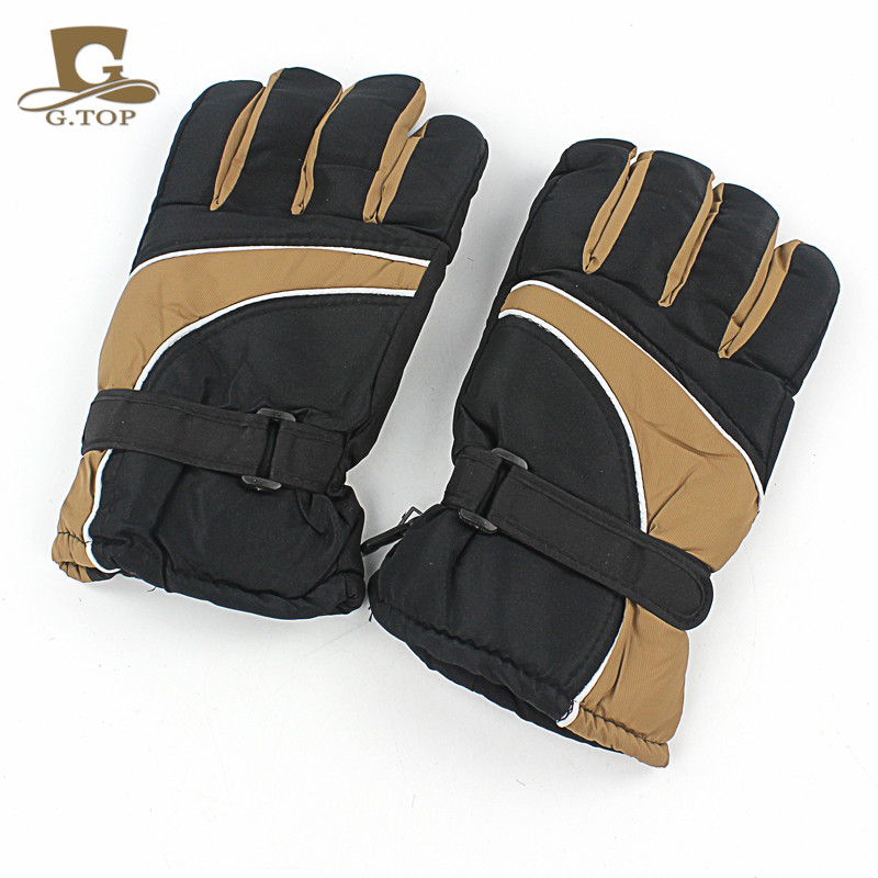 Men Waterproof Winter Cold Weather Ski Snowboard Gloves