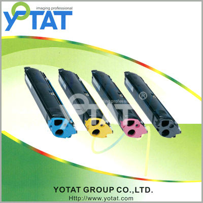 Yotat color toner cartridge compatible with Epson S050557 S050556 S050556 S050554 for Epson AcuLaser C1600 CX16