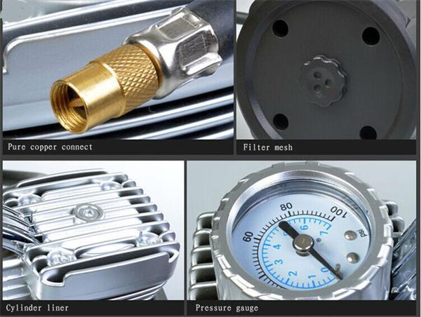 2 cylinder air compressor pump