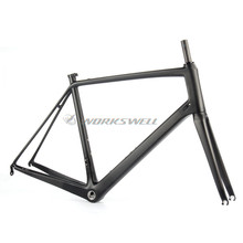 bb68 road bicycle carbon frame UD 3K 1K custom brand carbon frame 2017