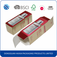 Wholesale fashion paper perfume packaging boxes