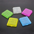 Clear Strong Plastic Battery Safe Case Holder Protective Storage Box for Rechargeable AA AAA Batteries