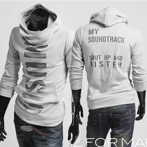 RT Free shipping High Collar Men's Jacket Top Brand ,Men's Dust Coat Hoodies Clothes M L XL XXL PW106