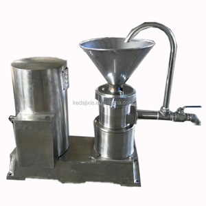 KEDA brand Small size home use industrial grinding extraction making commercial milk peanut butter machine