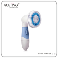 Deep Clean Battery Operated facial cleaning machine Natural brush