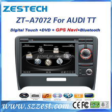 ZESTECH manufacturer for AUDI TT car dvd with gps bluetooth tv 2006-2011 car radio stereo