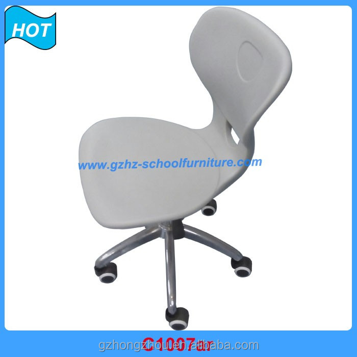 office adjustable metal school lab stools moving chair