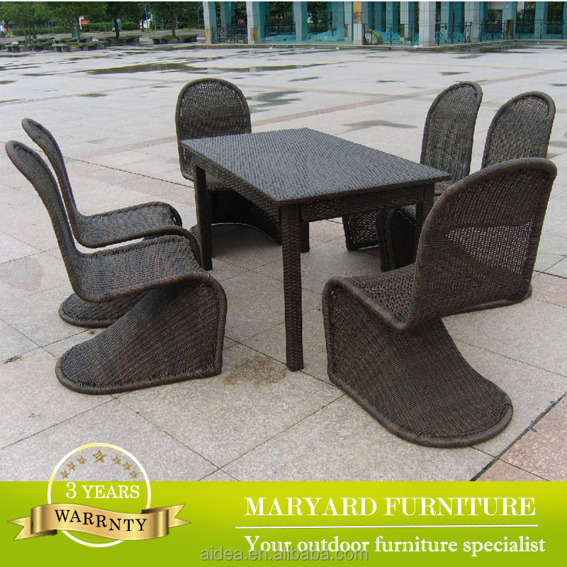 Outdoor Rattan Dining Set Outdoor Rattan