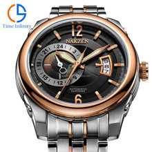 All stainless steel 316L two tone top luxury automatic man watches