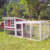 New indoor flat pack mobile chicken coop small animal house for chicken