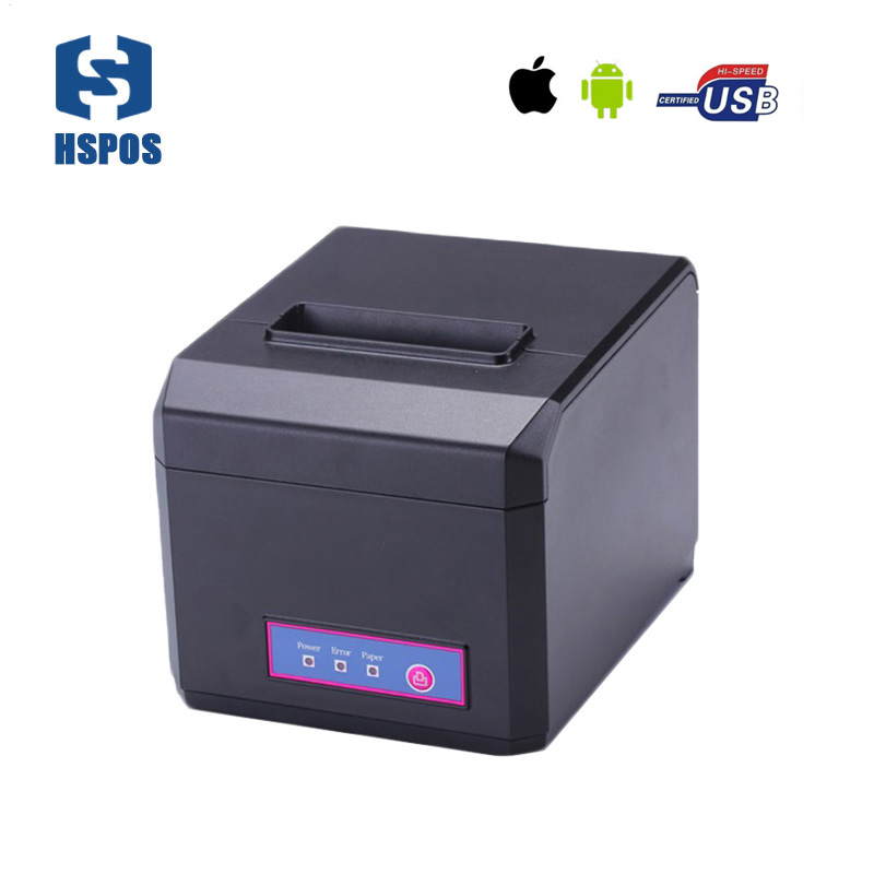 Bluetooth android thermal printer pos 80 printer also support 58mm <strong>paper</strong> with free SDK with auto cutter quality machine